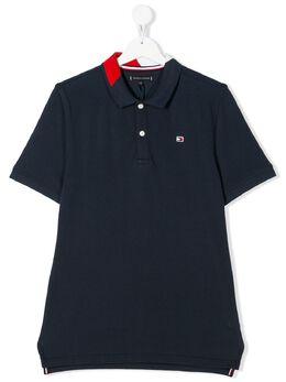 Tommy Hilfiger Junior рубашка-поло с пуговицами KB0KB05658
