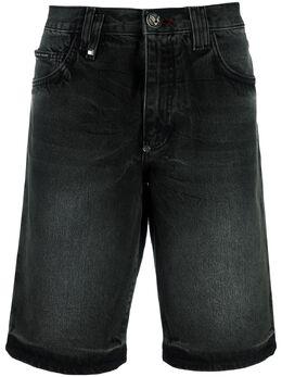 Philipp Plein джинсовые шорты Bermuda P20CMDT2170PDE004N