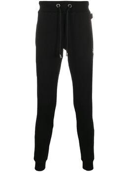Philipp Plein спортивные брюки с логотипом P20CMJT1528PJO002N