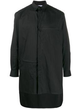 Y-3 рубашка асимметричного кроя FN3374