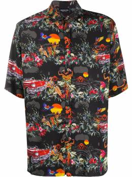 Mauna Kea рубашка с принтом Hawaiian MKU109