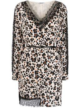Liu Jo платье с леопардовым принтом WA0305T5523