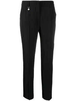 Blumarine укороченные брюки с завышенной талией 20609