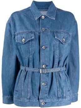Rag&Bone джинсовая куртка с поясом WDD19H1407K3BG