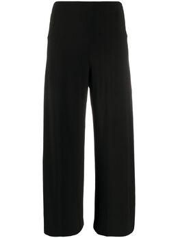 Norma Kamali укороченные брюки широкого кроя KK3297PL211CROPPEDSTRAIGHT