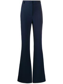 Hebe Studio расклешенные брюки с завышенной талией BIOPVI