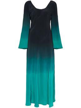 Rixo платье макси Ivy с эффектом деграде IVY