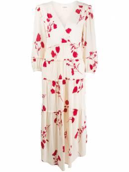 Ba&sh ярусное платье миди Paule 1E20PAUL