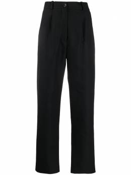 Norse Projects брюки Karen с завышенной талией KARENCOMPACTTWILL