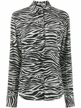10 Crosby Derek Lam рубашка на пуговицах с зебровым принтом TR01701ZV