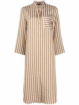 Antonelli платье-рубашка в полоску LORNA933