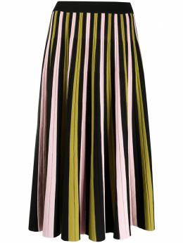 La Doublej плиссированная юбка SKI0034KNI022RIG0009