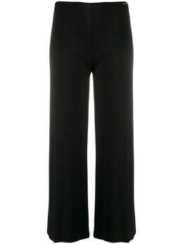 Liu Jo расклешенные брюки с цепочкой WA0386J4019
