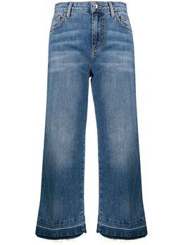 Liu Jo укороченные джинсы с завышенной талией UA0050DM105