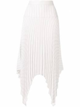 Dion Lee плиссированная юбка асимметричного кроя A1284R20