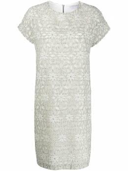 Harris Wharf London платье-трапеция с рукавами кап A6268PYU