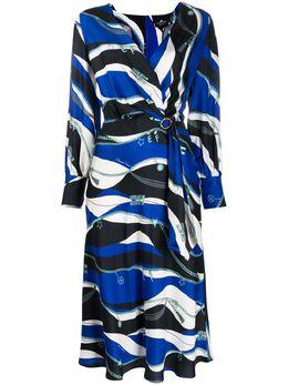 Elisabetta Franchi платье с принтом AB03302E2