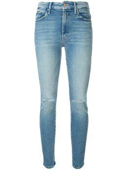 Mother джинсы The High Waisted Looker кроя слим 1221775DOU