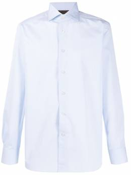 Ermenegildo Zegna Xxx строгая рубашка с длинными рукавами 7020579NS0LB