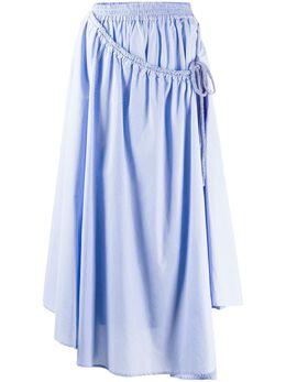 Maison Flaneur расклешенная юбка миди 20SMDSK330TC267