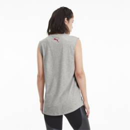 Puma - female - Майка AL Loose fit Tank – Light Gray Heather – M
