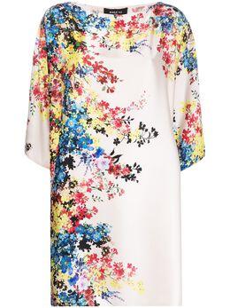 Paule Ka платье-трапеция с цветочным принтом 225R168