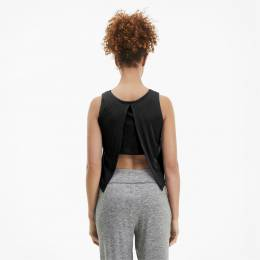 Puma - female - Майка Studio Crop Lace Tank – Puma Black – L