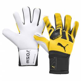 Puma - Вратарские перчатки PUMA One Grip 1 Hybrid Pro – ULTRA YELLOW-Black-White – 10 4062451384692