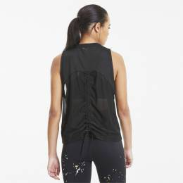 Puma - female - Майка Metal Splash Adjustable Tank – Puma Black – M