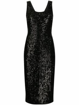 Dvf Diane Von Furstenberg платье миди Mercury с пайетками 13621DVF