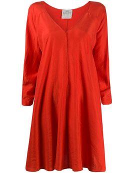 Forte_Forte расклешенное платье с длинными рукавами 7285MYDRESS