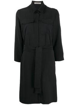 D'Exterior платье-рубашка с поясом 50599