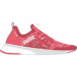 Puma - female - Кроссовки Flyer Runner Engnr Knit Wn's – Ignite Pink-Puma White – 39 4062451554187