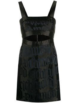 John Richmond платье мини с логотипом RWP20083VESM