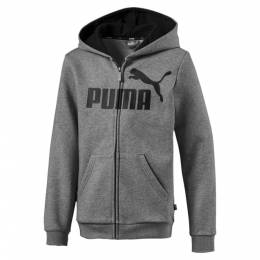 Puma - male - Толстовка Essentials Hooded Jacket B – Medium Gray Heather – 2T 4059507937315