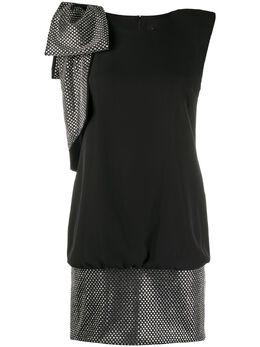 John Richmond платье со стразами RWP20068VE