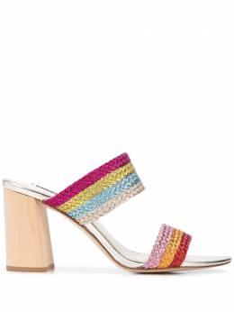 Alice + Olivia туфли на блочном каблуке LONI