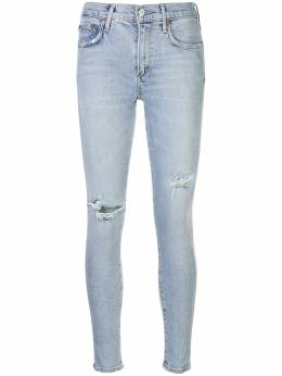 Agolde джинсы с порезями A1233002