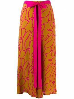 Alysi юбка с абстрактным принтом 100018P0023