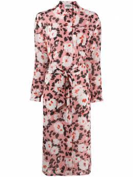 Essentiel Antwerp платье-рубашка с цветочным принтом VOHO
