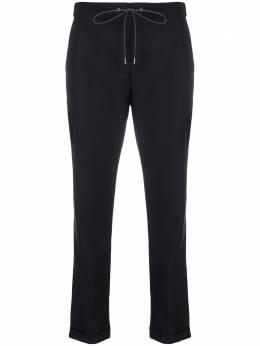 Fabiana Filippi зауженные брюки с кулиской PAD260W8550000A602