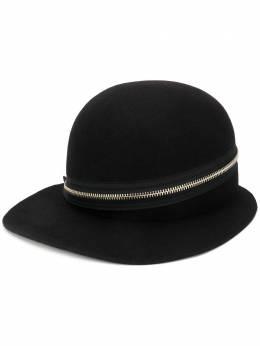 Yohji Yamamoto шляпа с широким козырьком и молнией FNH14161