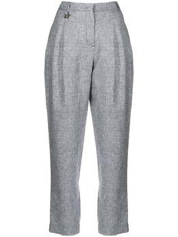 Lorena Antoniazzi зауженные брюки с завышенной талией P2028PA0013208