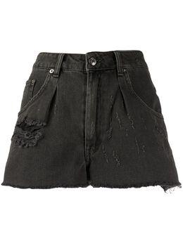 Iro джинсовые шорты с эффектом потертости WM30DARZO