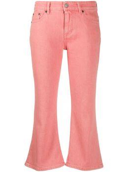 Mm6 Maison Margiela расклешенные укороченные джинсы S32LA0219S30694
