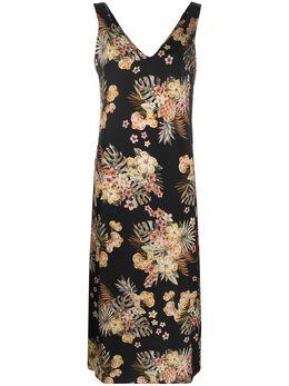 Liu Jo платье миди с цветочным принтом FA0202T4031