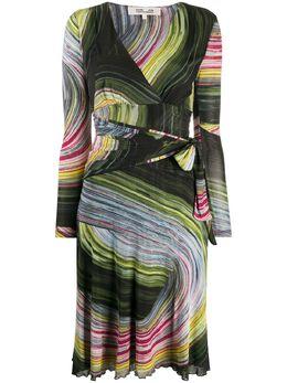 Dvf Diane Von Furstenberg платье Natalie с графичным принтом 13770DVNF