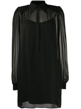 John Richmond платье мини с поясом RWP20215VE