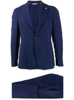 Manuel Ritz строгий костюм с однобортным пиджаком 2832A3728200001