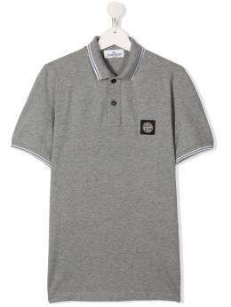 Stone Island Junior рубашка-поло с логотипом MO721621348